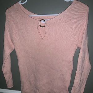 Calvin Klein Fitted Ribbed Sweater
